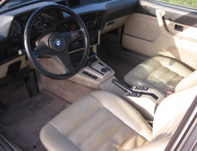 Touring garage ag bmw 635 csi coup 1987 for Interieur 635 csi