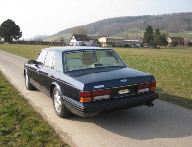 Bentley Brooklands Turbo Limousine