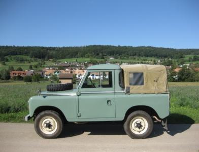 touring garage ag land rover 88 serie iii gel ndewagen 1973. Black Bedroom Furniture Sets. Home Design Ideas