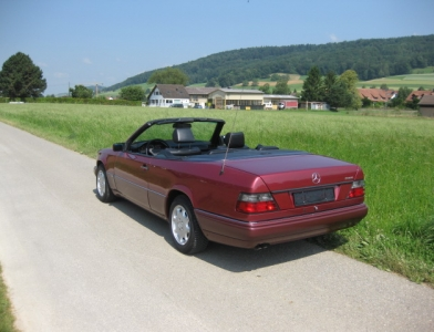 touring garage ag mercedes benz e 320 cabriolet 1994. Black Bedroom Furniture Sets. Home Design Ideas