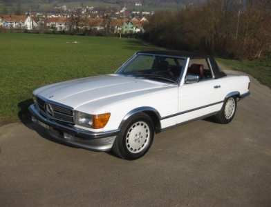 touring garage ag mercedes benz 300 sl cabriolet 1986. Black Bedroom Furniture Sets. Home Design Ideas