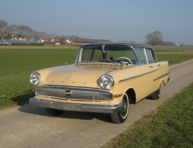 Touring garage ag opel kapit n l limousine 1963 for Garage opel l union