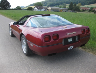 Chevrolet Corvette ZR1 Targa