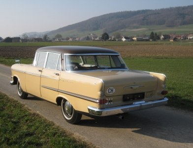 Touring garage ag opel kapit n l limousine 1963 for Garage opel bessancourt 95