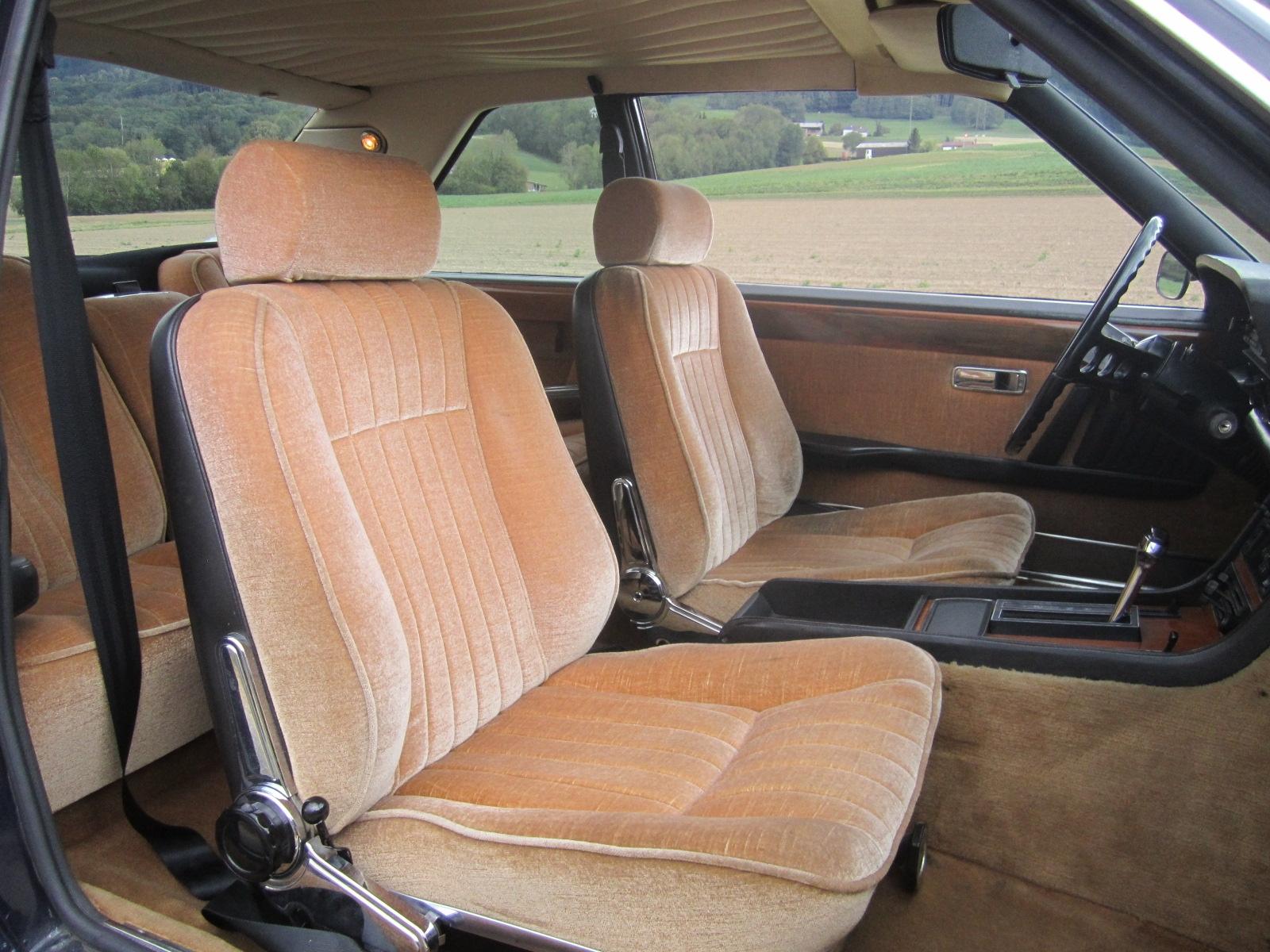 Fiat Coupe Innen Vorne