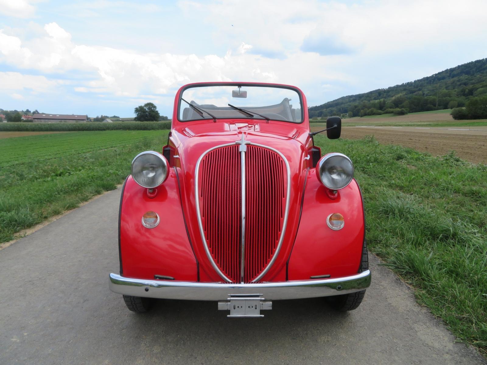 Touring Garage Ag Fiat 500 B Topolino Cabriolet 1948