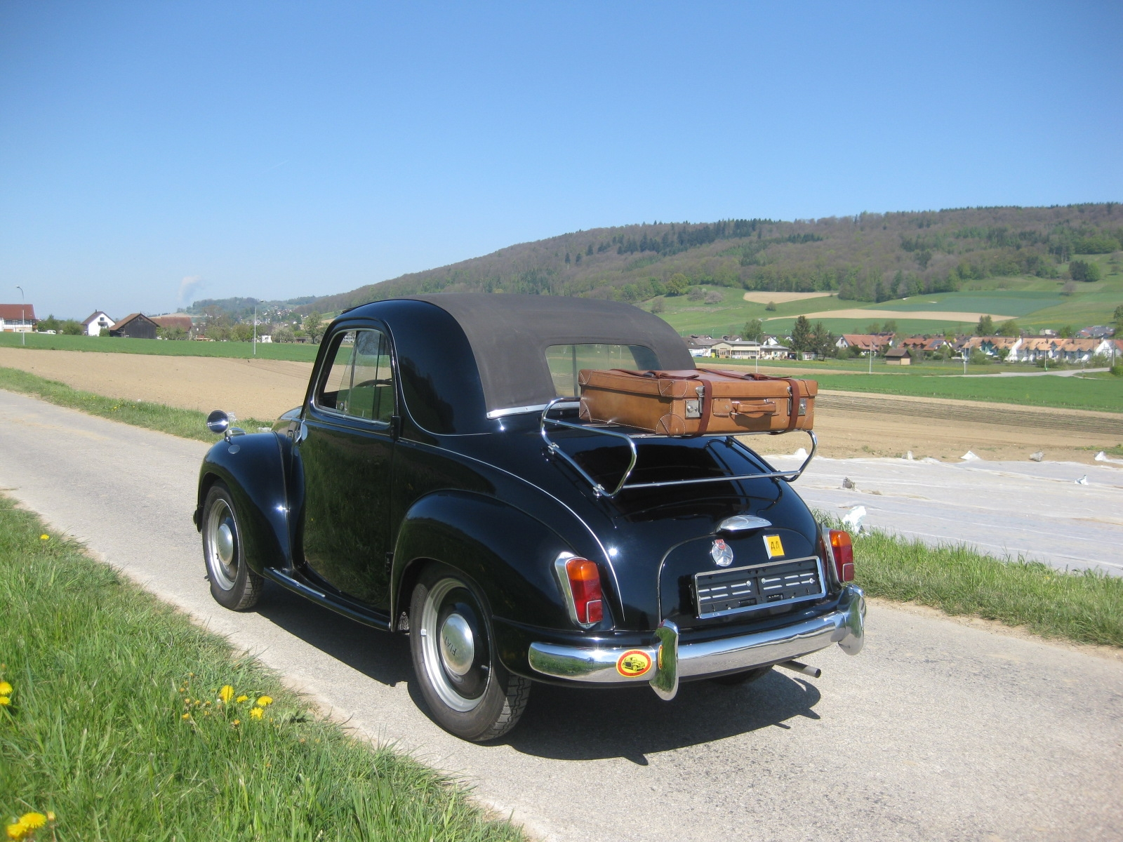 touring garage ag fiat 500 topolino cabriolet 1953. Black Bedroom Furniture Sets. Home Design Ideas