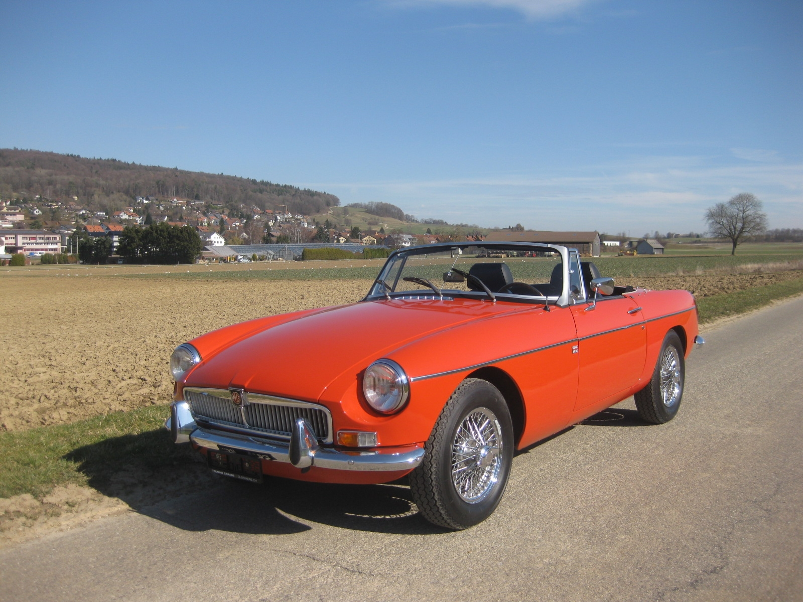 touring garage ag mg mgb cabriolet 1972. Black Bedroom Furniture Sets. Home Design Ideas