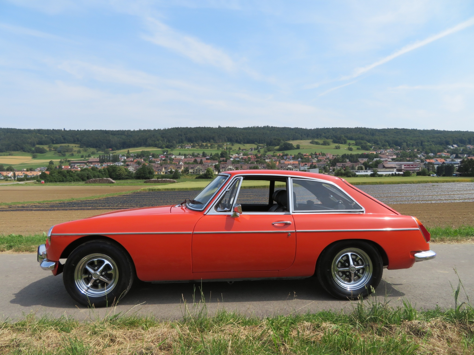 MG MGB GT Coupé