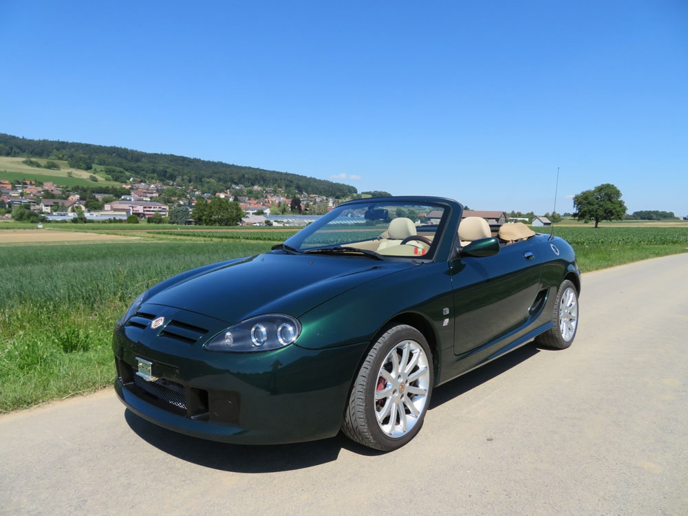 MG TF 160 Cabriolet