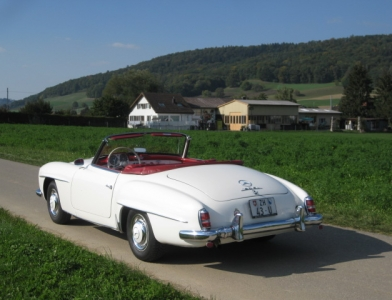 touring garage ag mercedes benz 190 sl cabriolet 1959. Black Bedroom Furniture Sets. Home Design Ideas