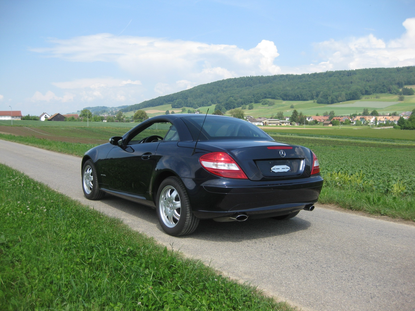 touring garage ag mercedes benz slk 200 kompressor cabriolet 2004. Black Bedroom Furniture Sets. Home Design Ideas