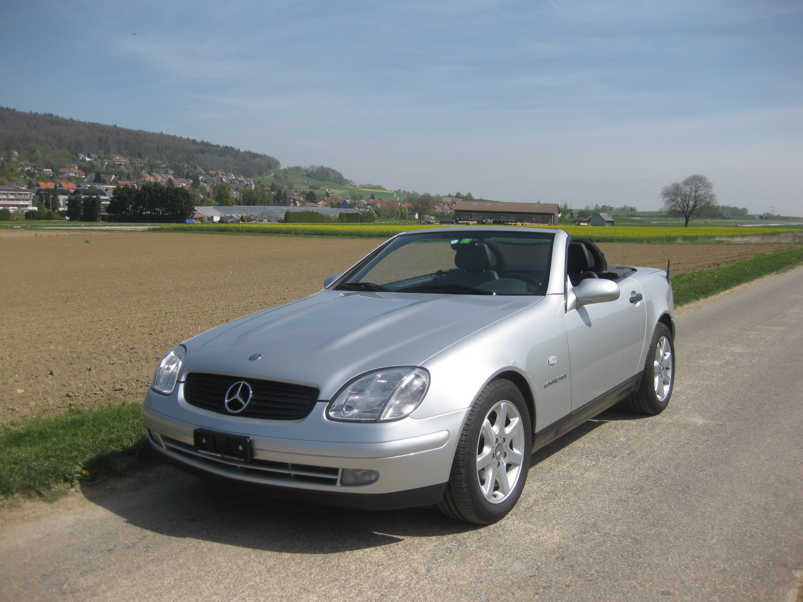 touring garage ag mercedes benz slk 230 cabriolet 1998. Black Bedroom Furniture Sets. Home Design Ideas