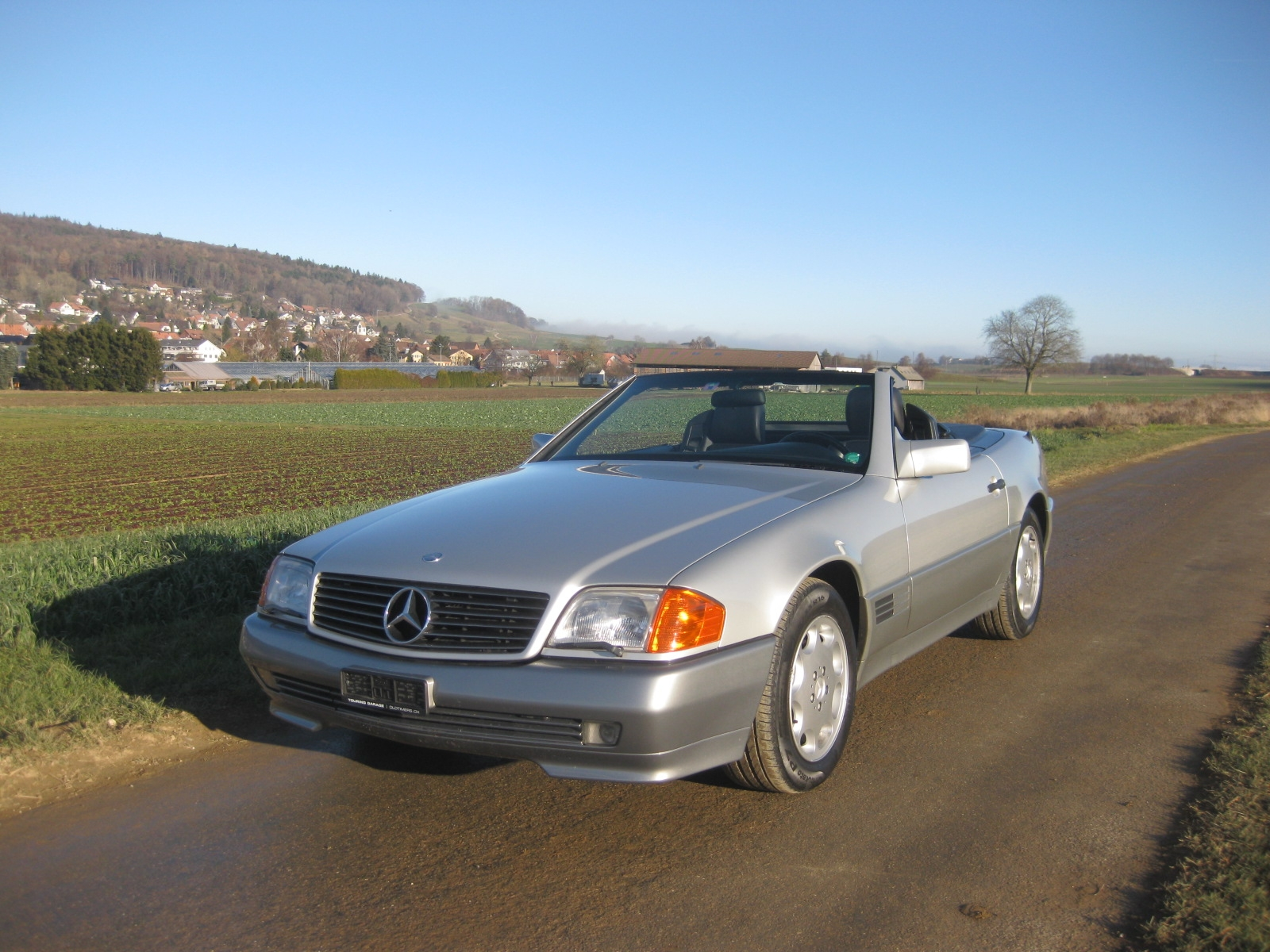 touring garage ag mercedes benz sl 500 cabriolet 1992. Black Bedroom Furniture Sets. Home Design Ideas