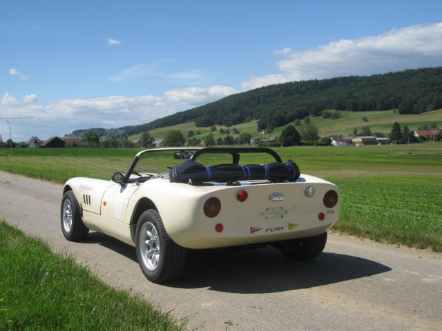 Sylva Fisher Fury Roadster