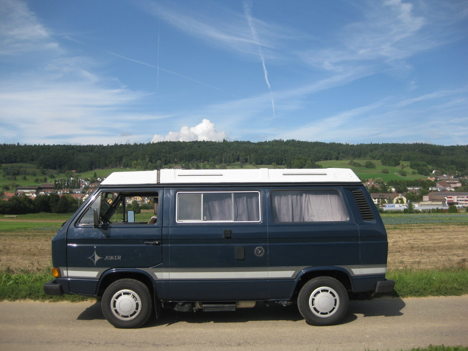 touring garage ag vw t3 typ 2 westfalia joker wohnmobil 1985. Black Bedroom Furniture Sets. Home Design Ideas